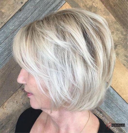 10 coiffures courtes chics et simples pour les femmes de plus de 4 1