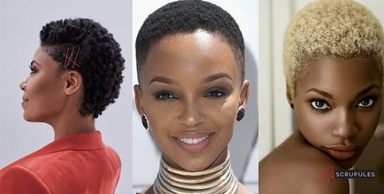 10 ides de coiffures pour cheveux courts afro adopter 1