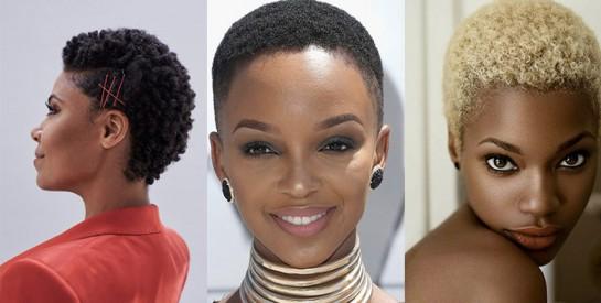 coiffure courte pour femme africaine