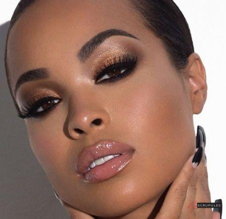 10 maquillages pour les yeux et peaux noirs maquillage yeux 1