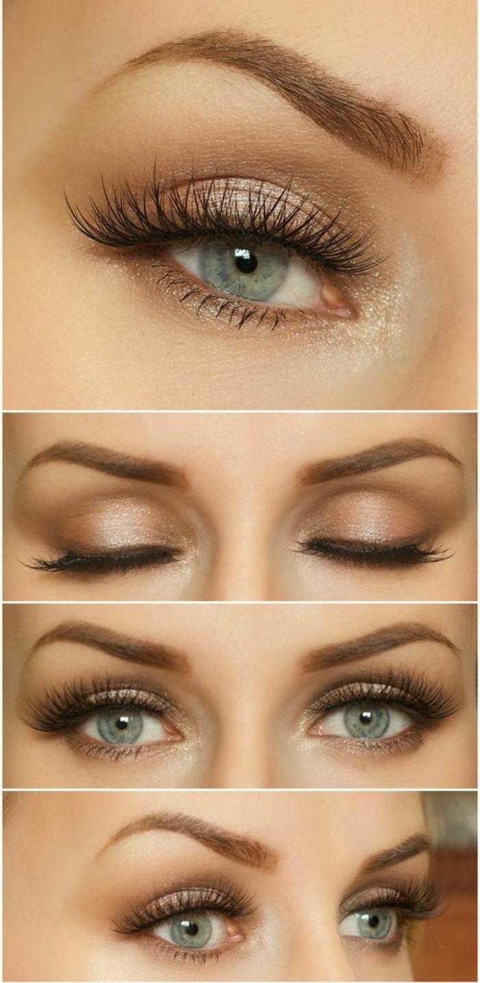 1001+ variantes de votre maquillage doré - Archzine.fr