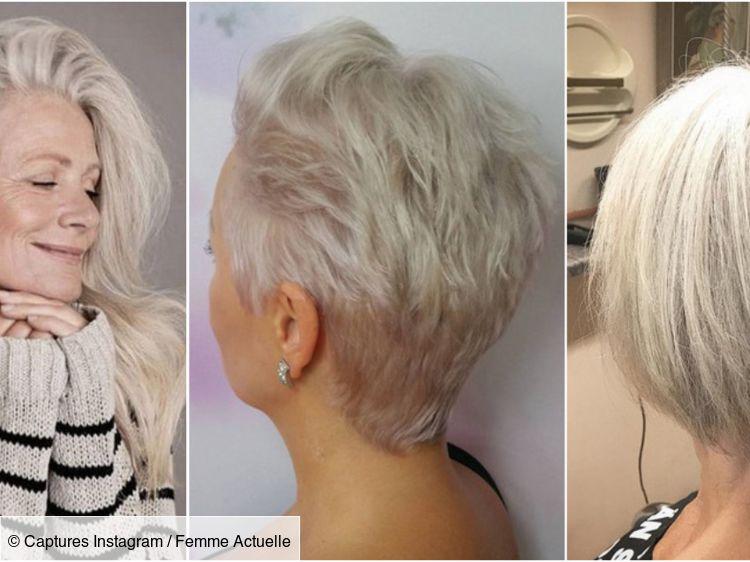 coiffure courte pour femme 80 ans