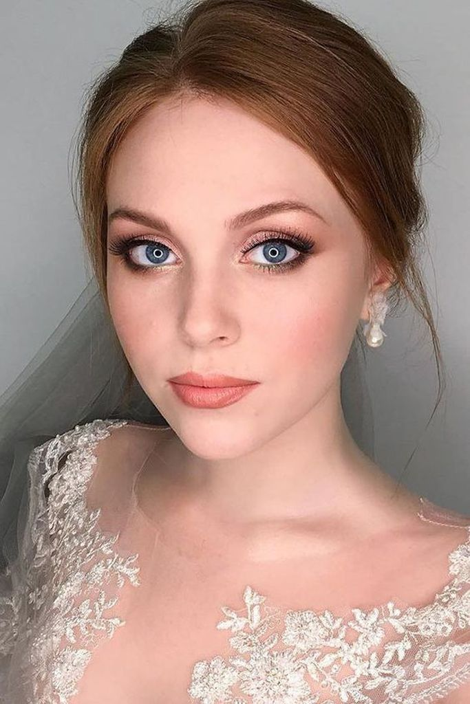35 Lovely Natural Wedding Makeup Ideas 2019   Maquillage