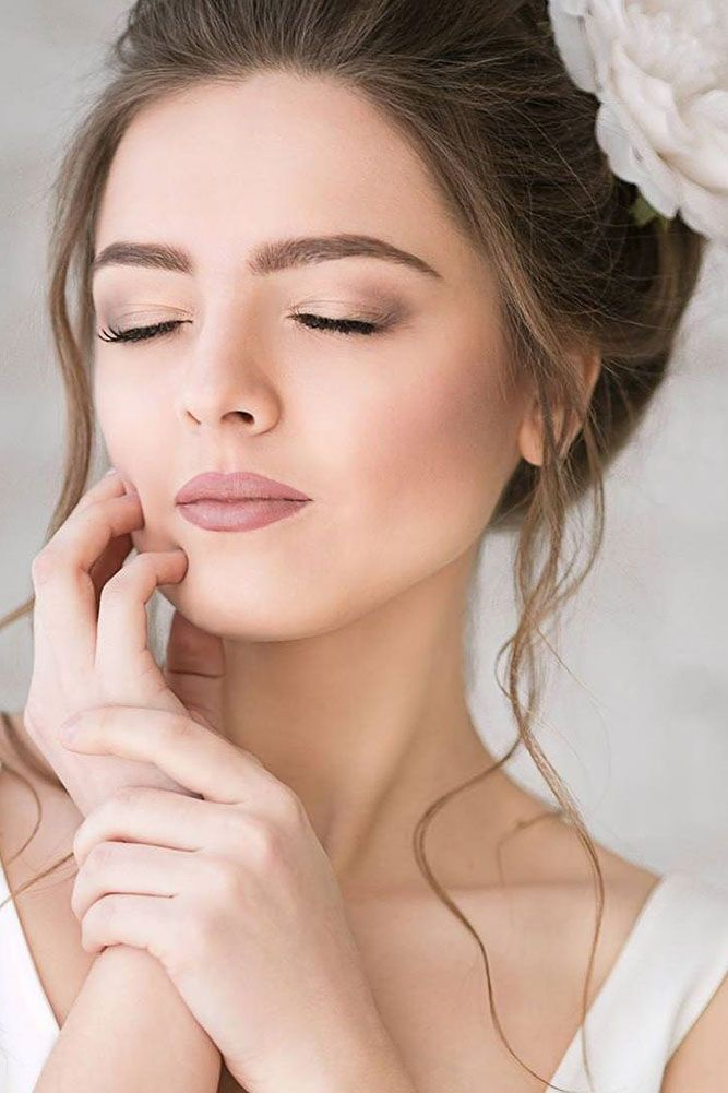 36 Ideas For Natural Bridal Makeup | Maquiagem noiva