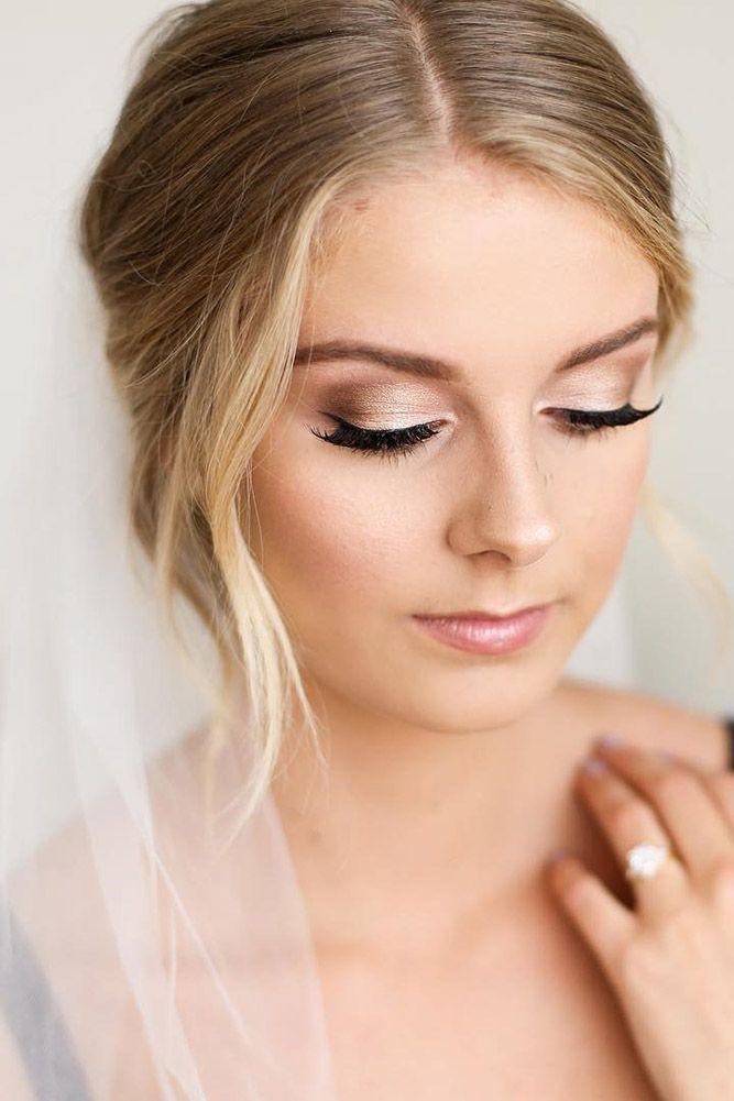 45 Wedding Make Up Ideas For Stylish Brides   Bridal