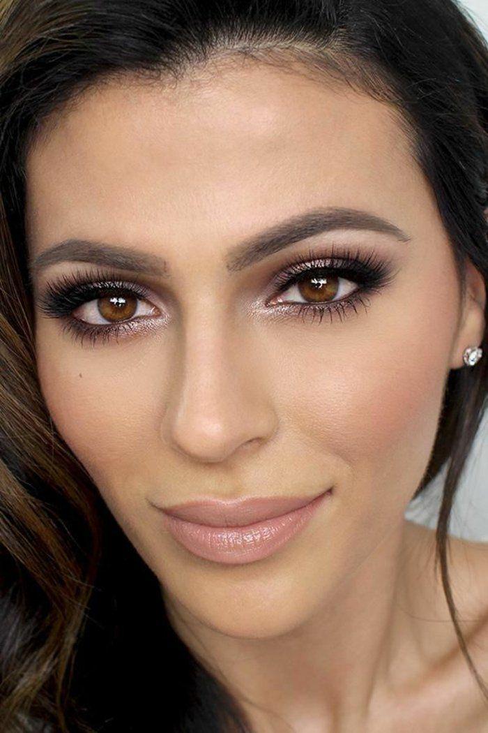 60 idées pour le maquillage yeux marrons | Maquillage yeux