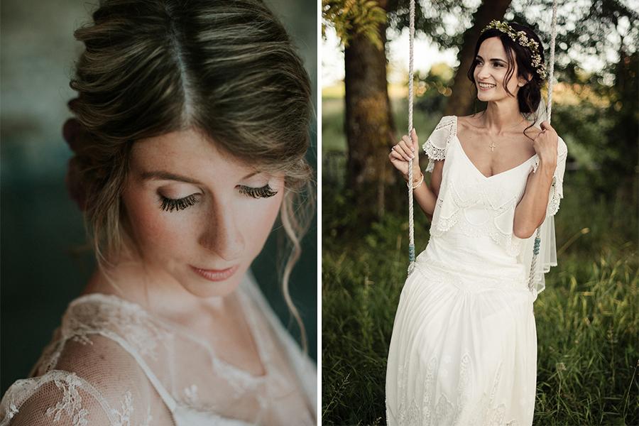 Amélie Gouttenoire // Maquilleuse coiffeuse mariage Lyon