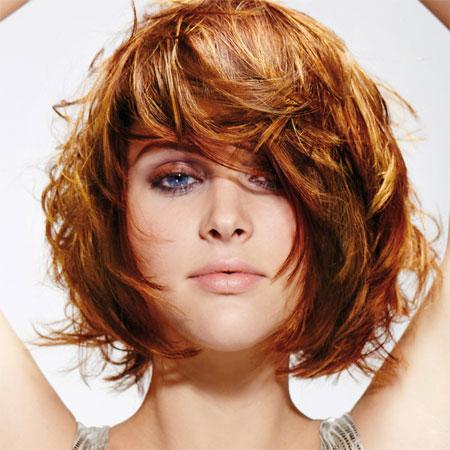 coiffure courte femme shampoo