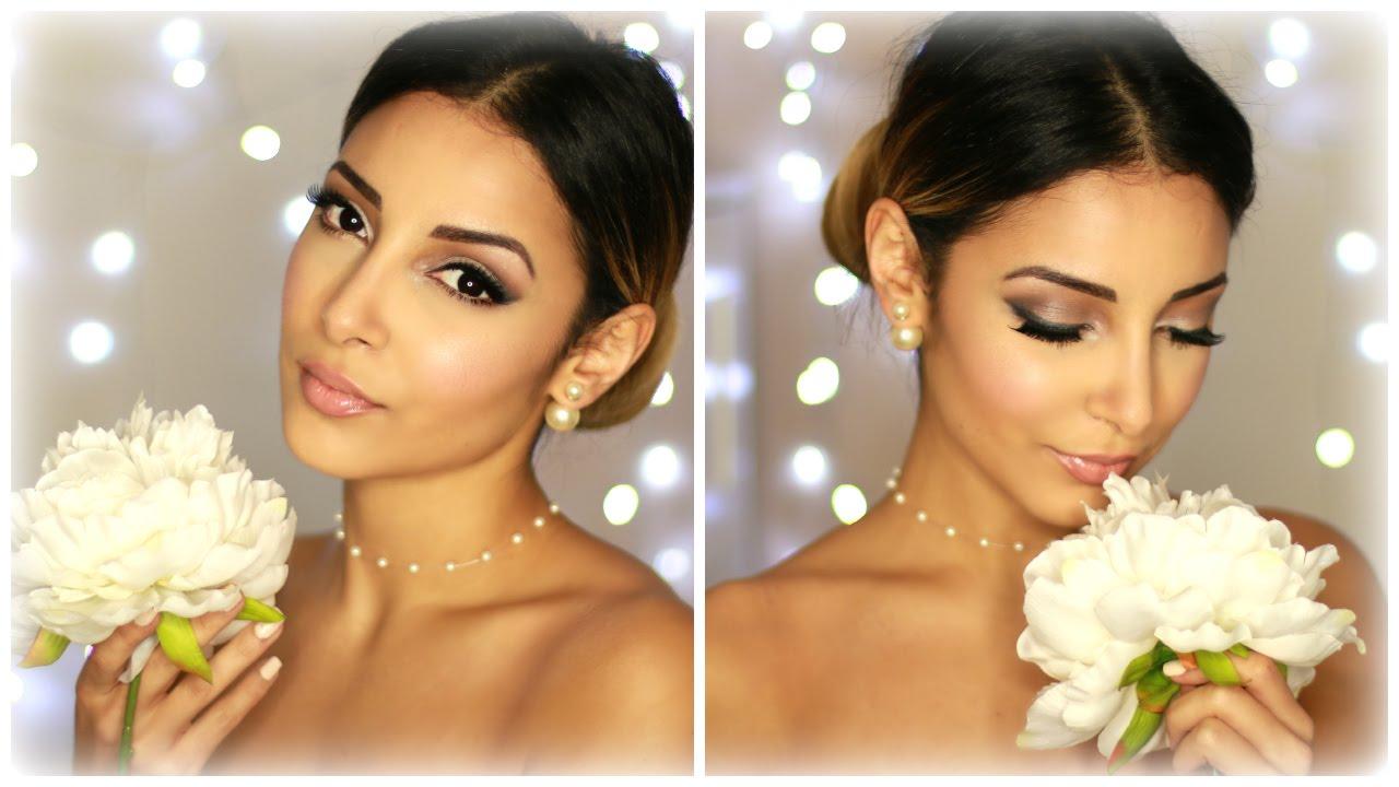 Bridal Wedding Make Up Maquillage de mariée - YouTube