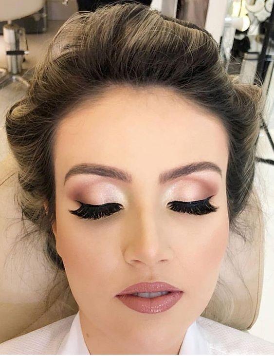 maquillage pour mariage facile
