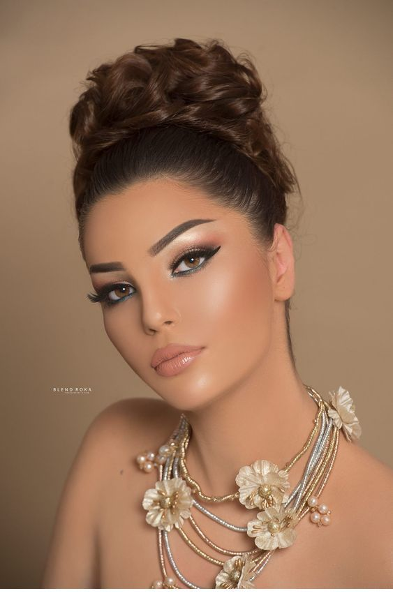 Chic wedding make-up idea (avec images) | Maquillage
