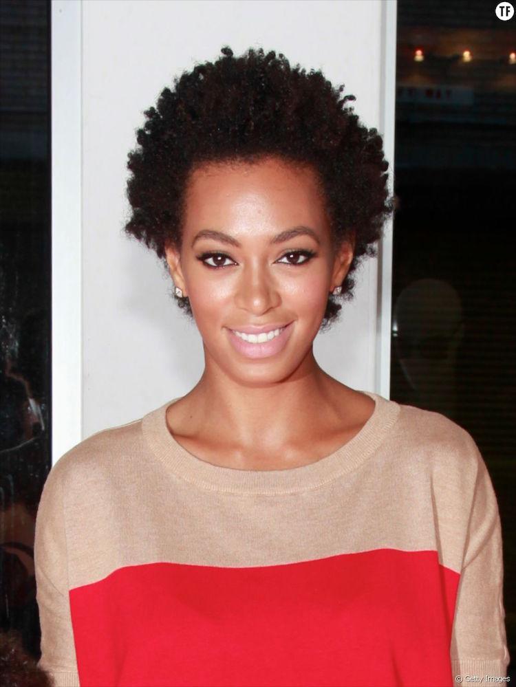 Coiffure Avec Cheveux Court Afro