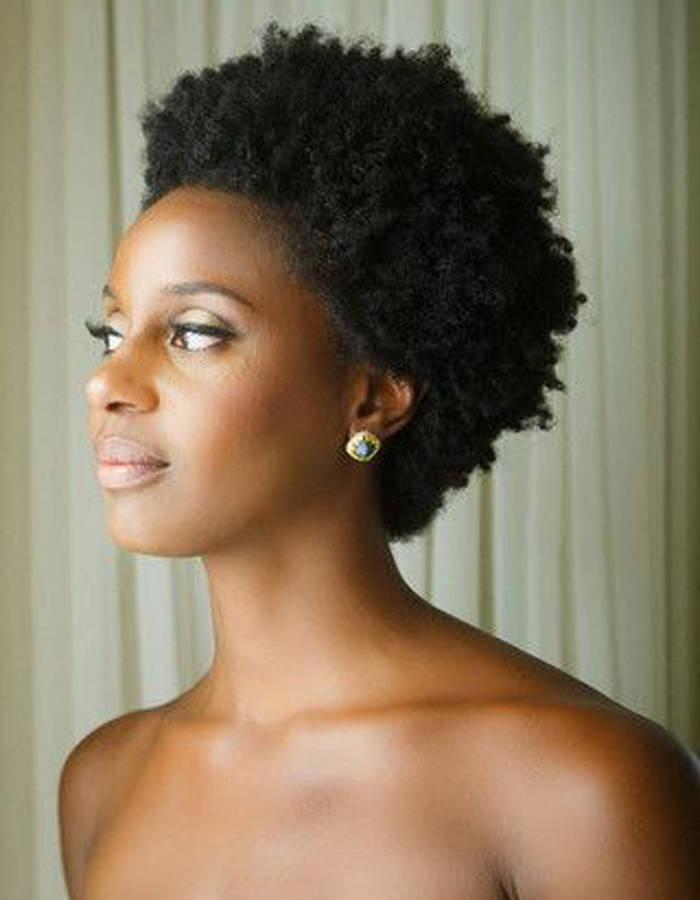coiffure cheveux court femme africaine