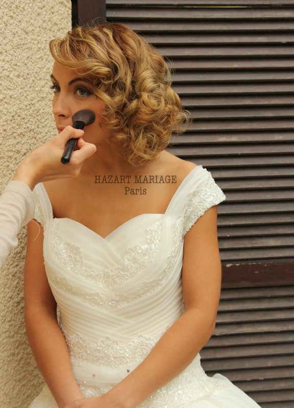 coiffure mariage paris - Maquillage mariage