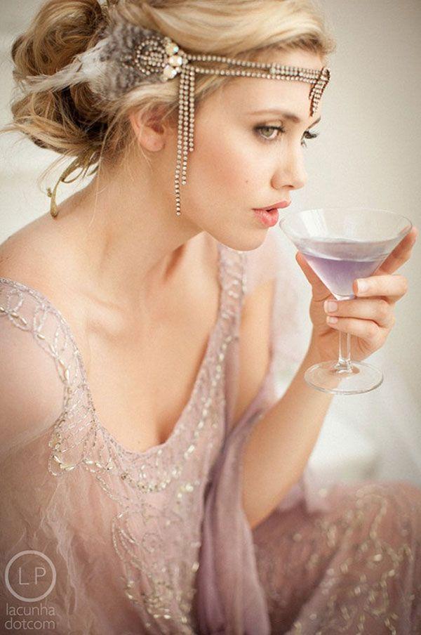 Coiffures inspirées des années 20 | wedding | Pinterest