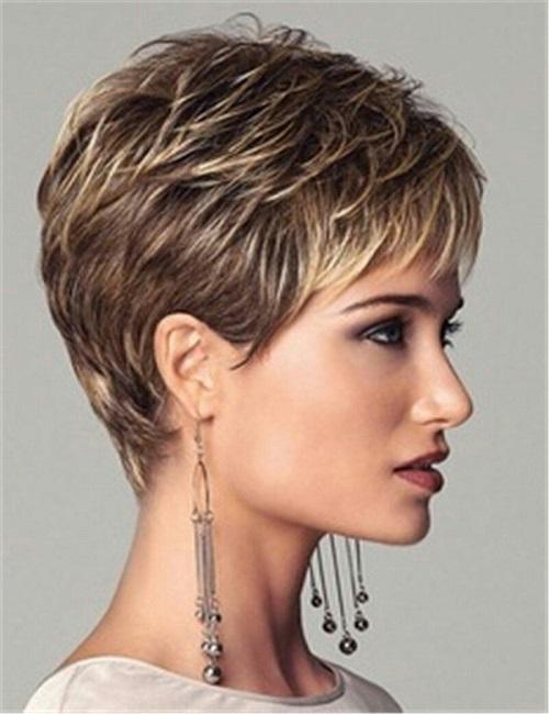 Coupe de cheveux courte 2020-Volume, Franges&Coiffure 2020