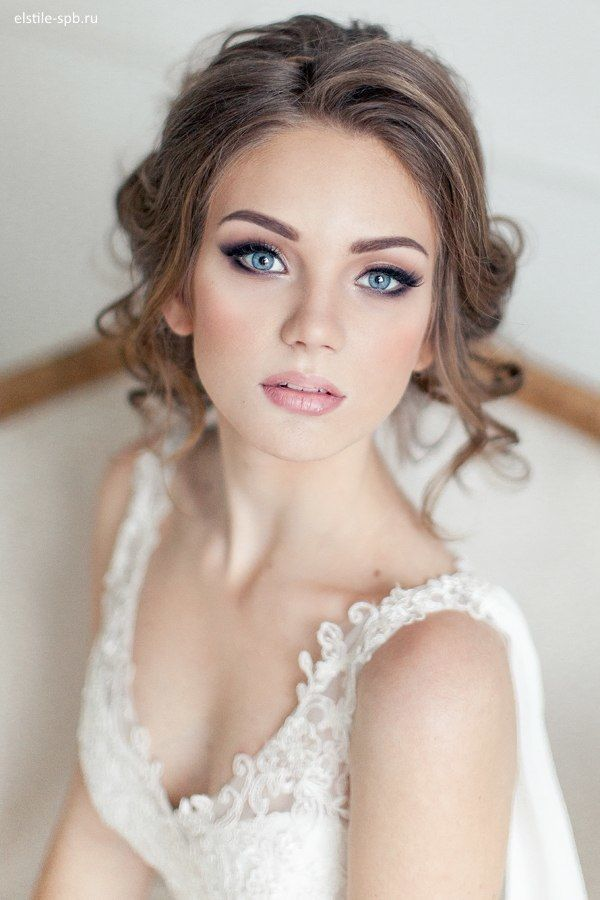 Gorgeous natural bridal look. /lnemnyi/lilllyy66/ Find