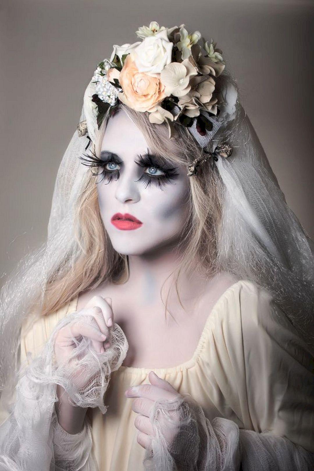 Gothic Bride Halloween Makeup – OOSILE