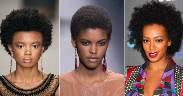 coiffure courte pour femme agee africaine