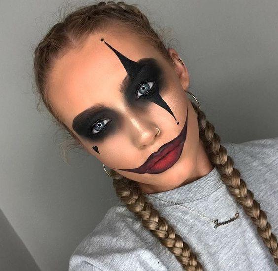 Last Minute Halloween Makeup Ideas That Don't Look Last