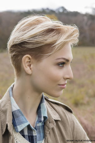 coiffure courte femme saint algue