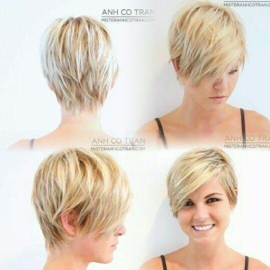 coiffure courte pour femme a visage rond