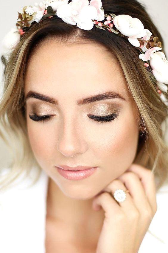 maquillage mariage naturel