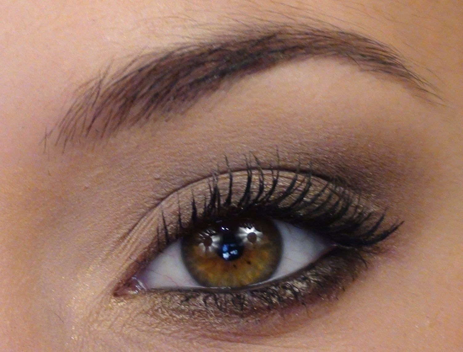 Maquillage des yeux marron - http://lookvisage.ru