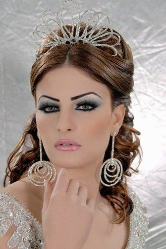 Maquillage libanais oriental pour un mariage   Maquillage