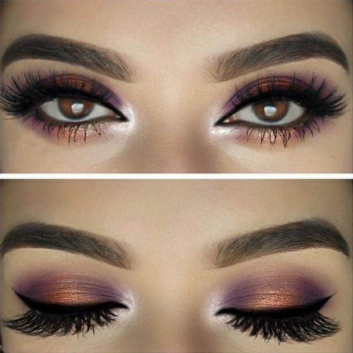 Maquillage Mariage 2017 Yeux Marron