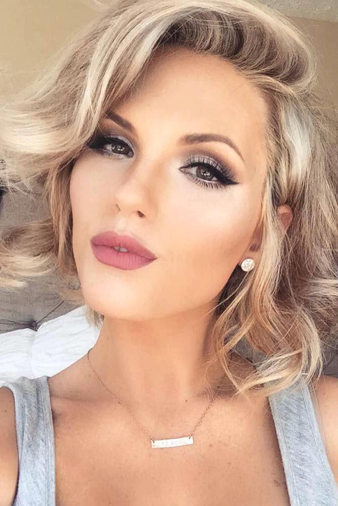 maquillage mariage blonde - Maquillage mariage