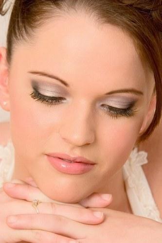maquillage mariage gris et rose - Maquillage mariage