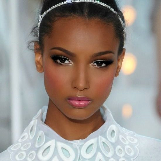 maquillage mariage peau mate - Maquillage mariage