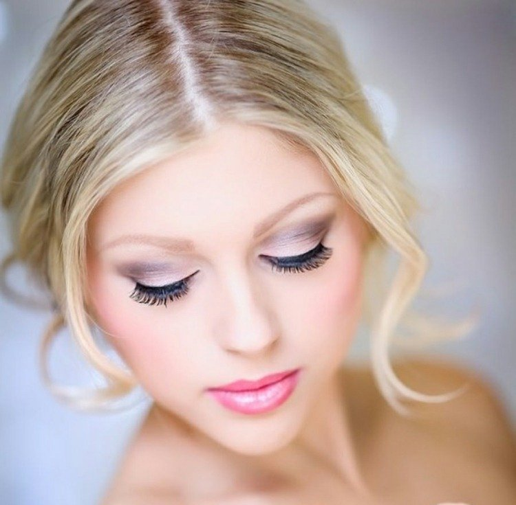 Maquillage Mariage Rose Pale