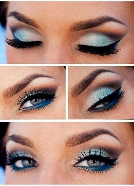 Maquillage Mariage Yeux Bleu Fonce