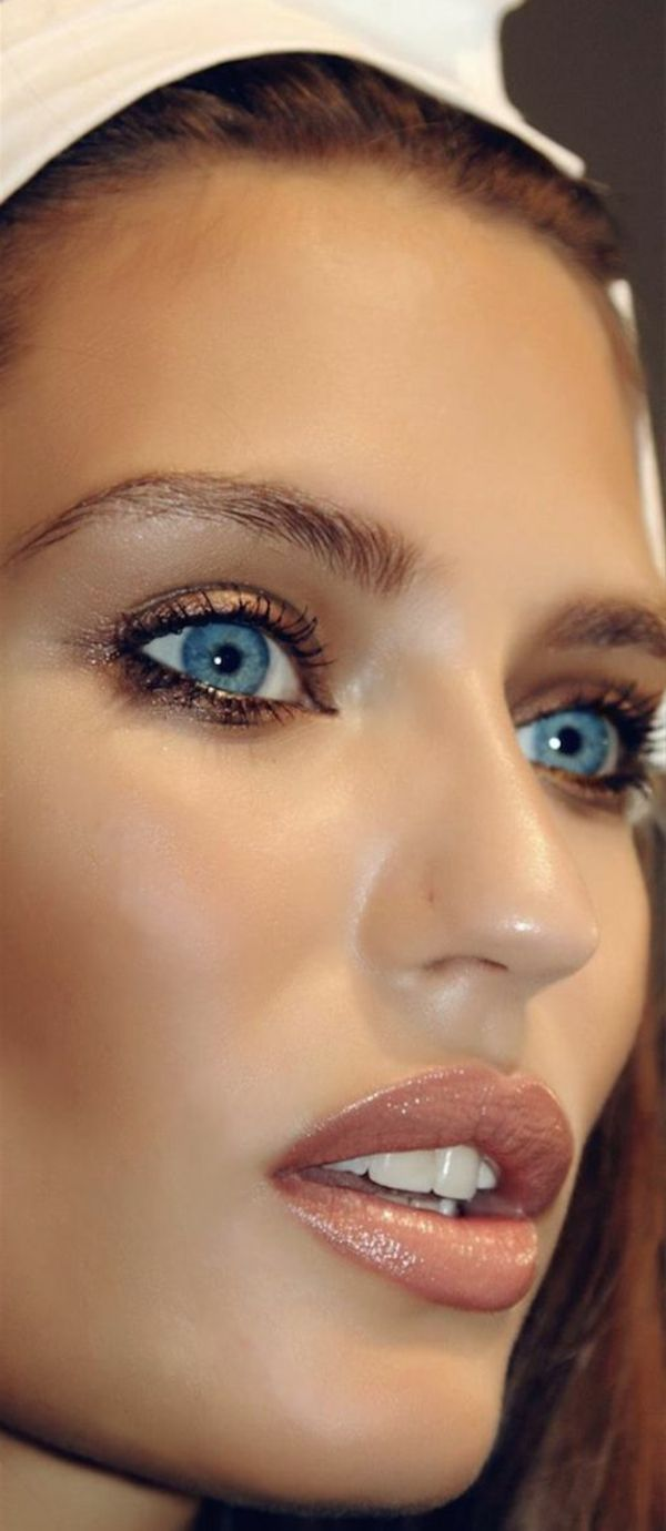 Maquillage Mariage Yeux Bleus