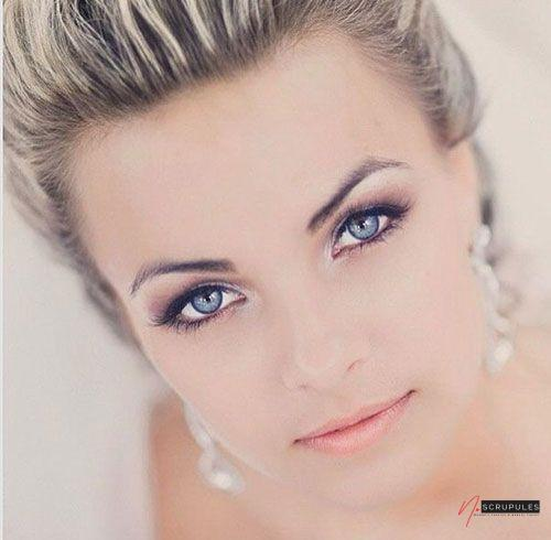 maquillage marie yeux bleus goldy mariage maquillage marie 2 1