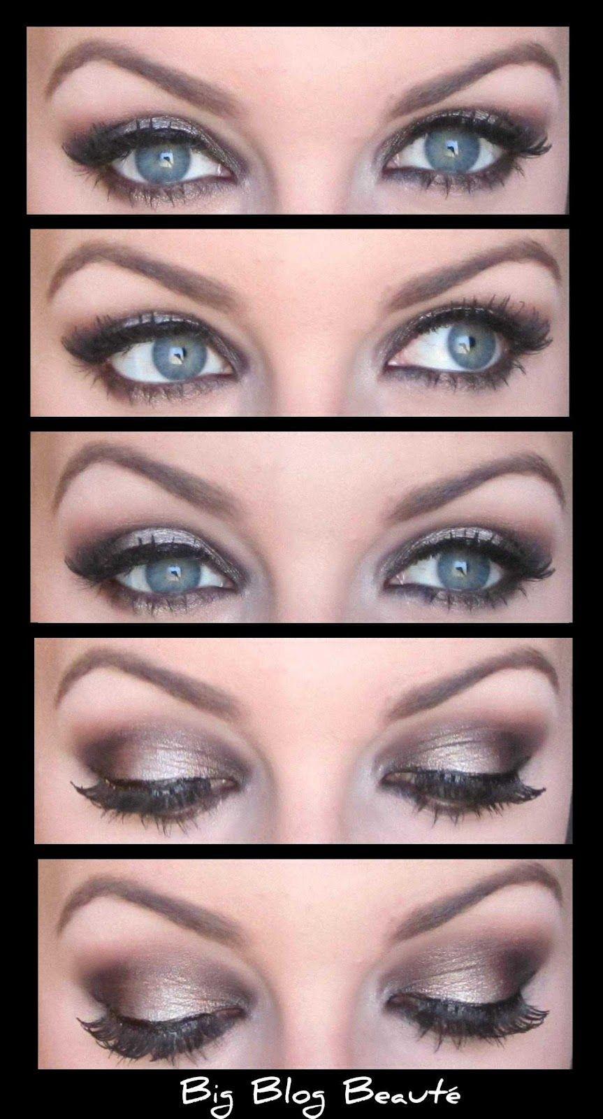 Maquillage mariée | Maquillage pour les yeux bleus