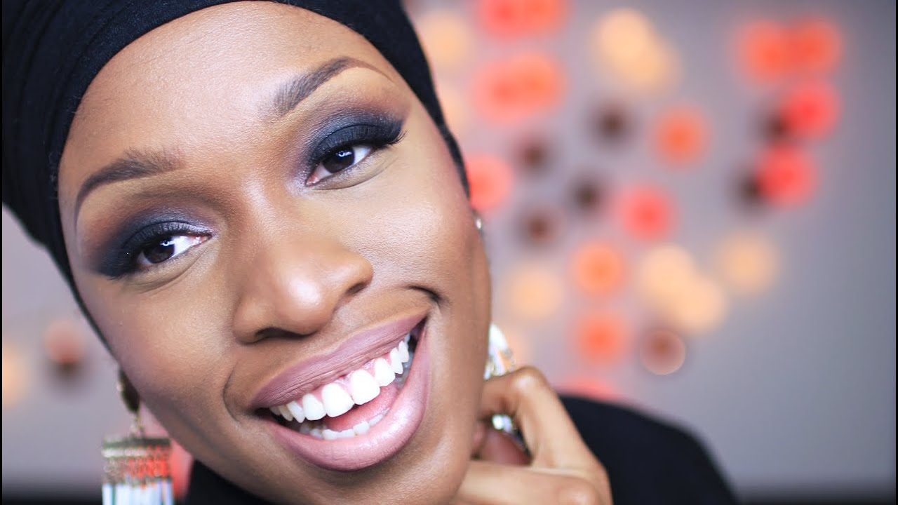 Maquillage Peau Noire | Tutoriel | Smokey Eye ou Yeux