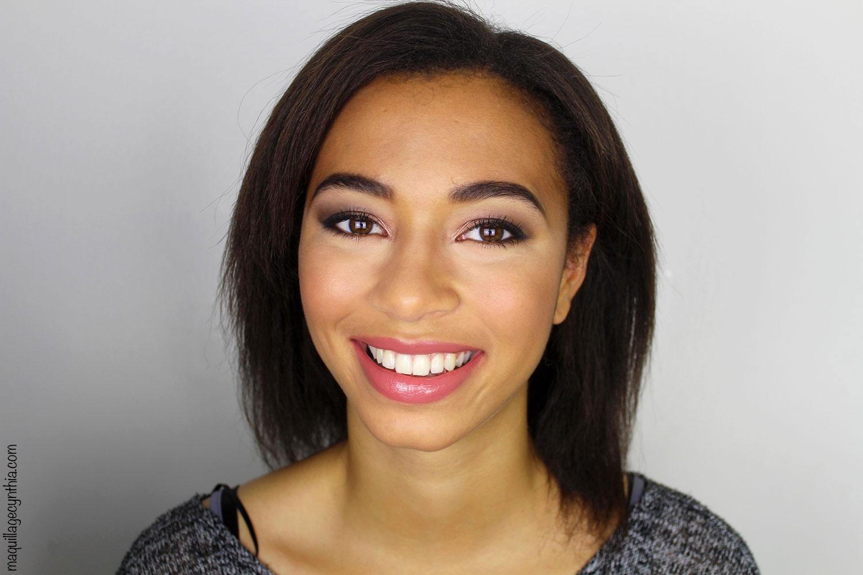 Maquillage pour peau mate (tutoriel) | Maquillage Cynthia
