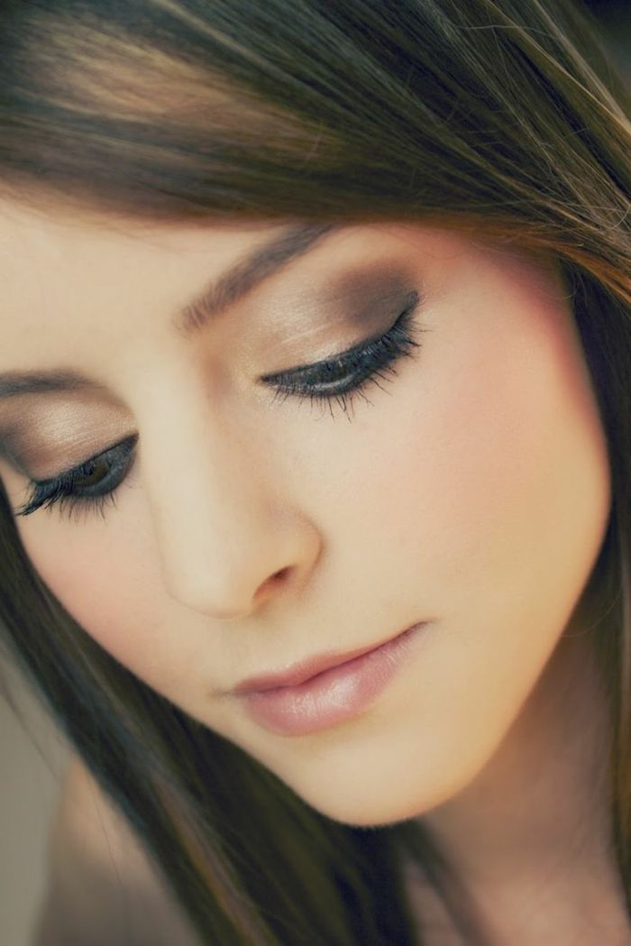 Maquillage Yeux Marrons Mariage