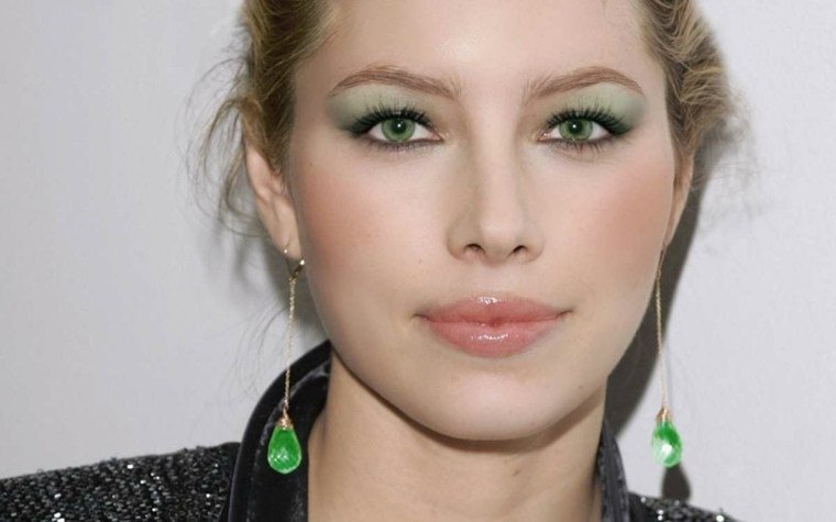 maquillage mariée chatain yeux verts