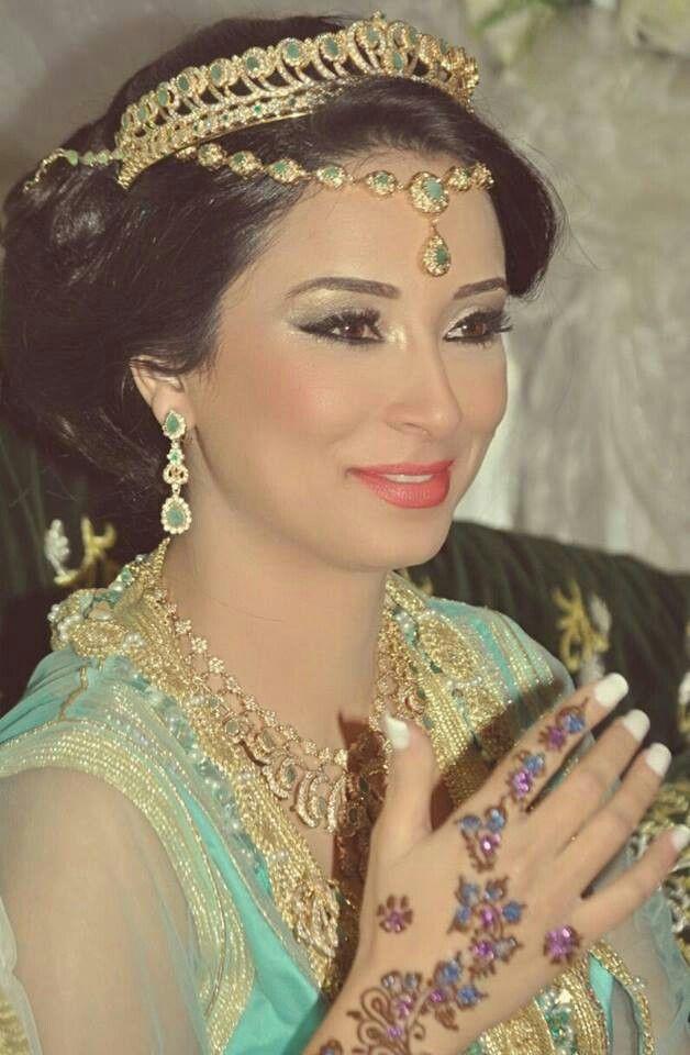 Mariée Marocaine ♡ | Mariée marocaine, Maquillage mariée
