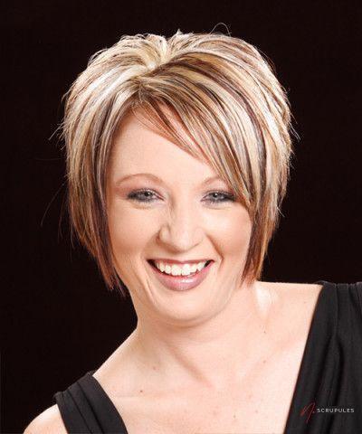 meilleur choix coiffures courtes pour visages ronds en 2015 4 1