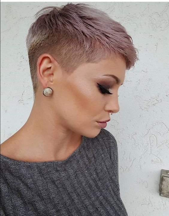 coiffure courte pour femme annee 2020