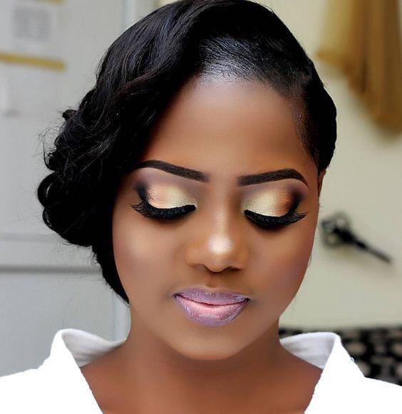 maquillage mariée pour peau mate