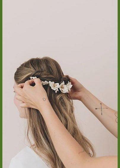 pingl sur coiffure mariage 4 1
