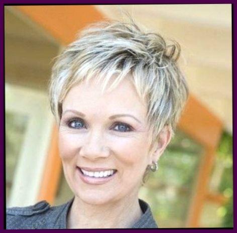 coiffure courte pour femme 60 visage rond