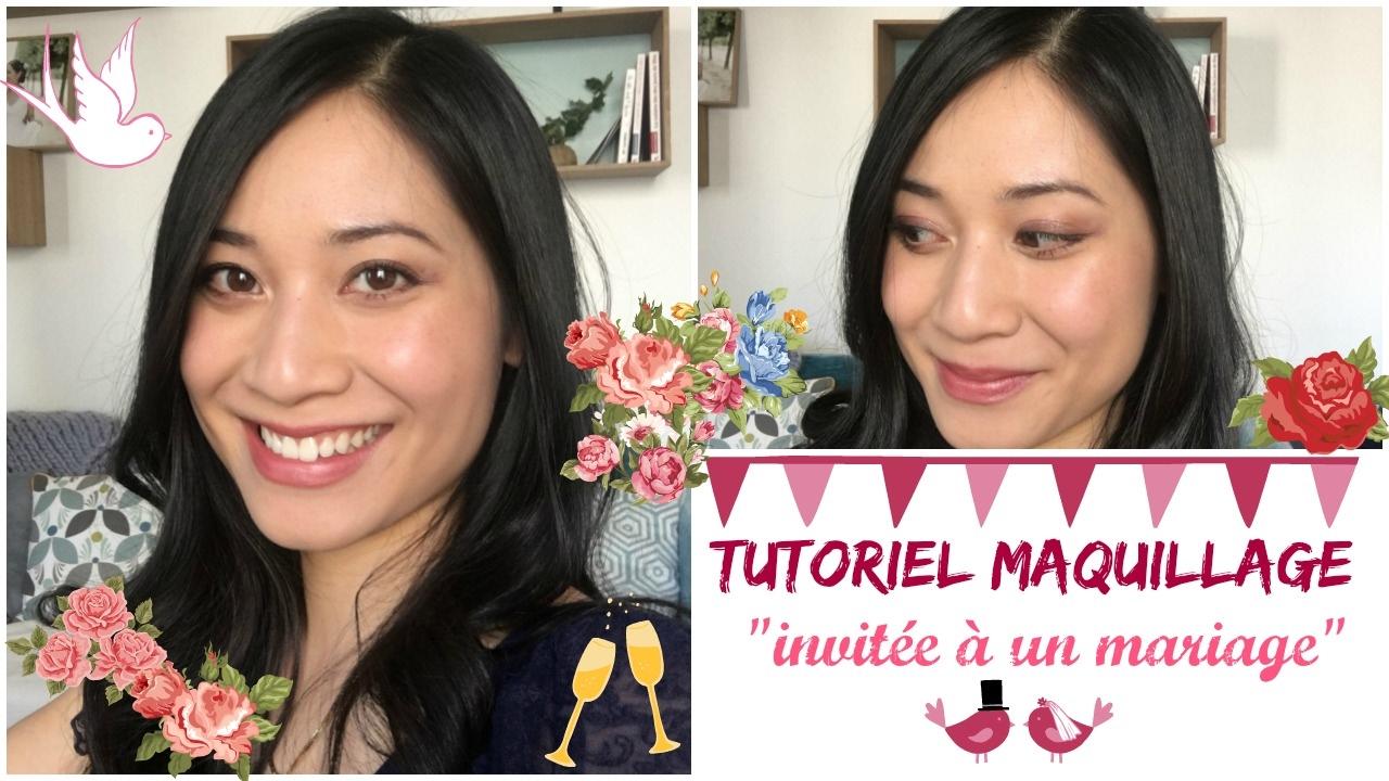 Tutoriel Maquillage : invitée à un mariage / Comment se