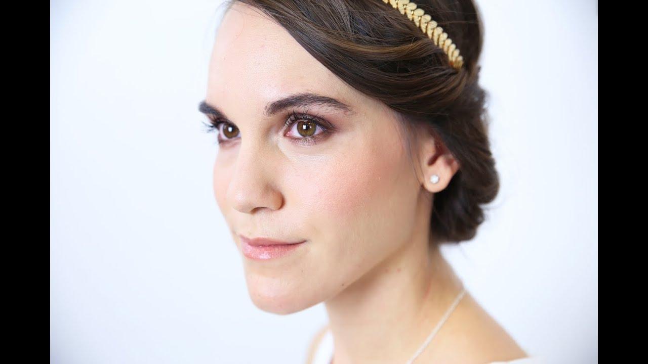Un maquillage de mariée naturel - YouTube